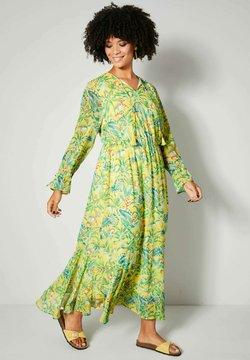 Angel of Style by HAPPYsize - Maxikleid - yellow/green/orange