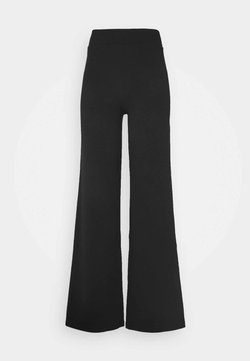 ONLY Tall - ONYCOCO ROCKY WIDE PANT - Broek - black