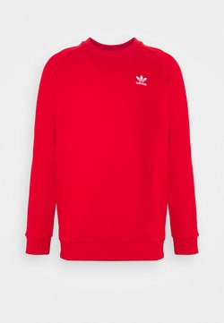 adidas Originals - ESSENTIAL CREW UNISEX - Sweatshirt - scarlet/white