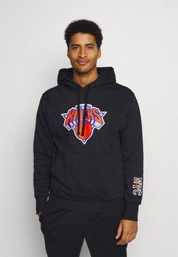 Nike Performance - NBA NEW YORK KNICKS CITY EDITION ESSENTIAL HOODIE - Pelipaita - black