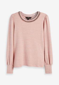 Next - COSY EMBELLISHED - T-shirt basic - pink