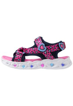 Skechers - HEART LIGHTS - Riemensandalette - pink