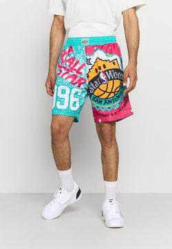 Mitchell & Ness - NBA ALL STAR SHORT - Pantalón corto de deporte - green/grizzlies teal