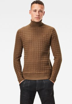 G-Star - CORE TABLE - Pullover - wild olive