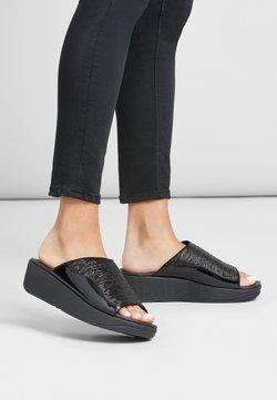FitFlop - SLIDE MYLA - Pantolette flach - all black