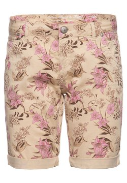 Amor, Trust & Truth - MIT FLORALEM  LOLA - Jeans Shorts - beige