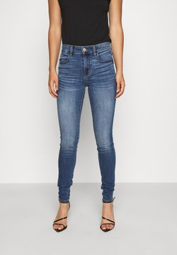 American Eagle - HI RISE JEGGING - Jeans Slim Fit - medium vintage wash
