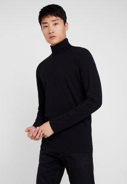 TOM TAILOR DENIM - LONGSLEEVE TURTLENECK  - Långärmad tröja - black