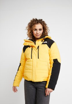 The North Face - HIMALAYAN PUFFER - Daunenjacke - tnf yellow tnf black