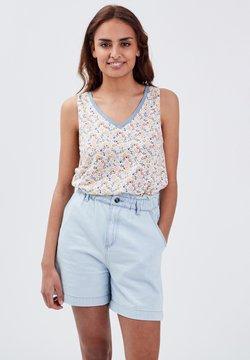 BONOBO Jeans - T-Shirt print - blanc