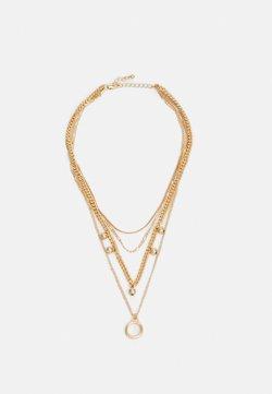 Pieces - PCBLUMA COMBI NEKLACE - Necklace - gold-coloured