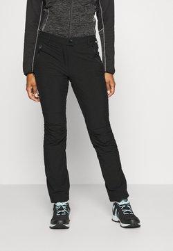 Regatta - HIGHTON - Pantalones montañeros largos - black