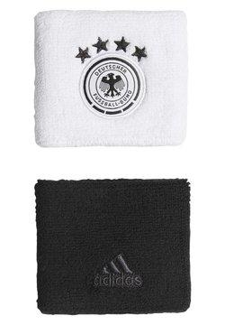 adidas Performance - Germany WB DFB FOOTBALL WRISTBAND - Schweißband - white