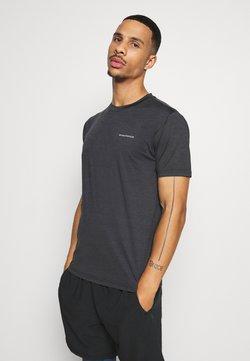 Endurance - MELANGE TEE - T-Shirt basic - black