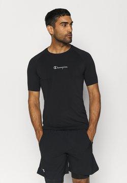 Champion - LEGACY GET ON TRACK CREWNECK - Camiseta básica - black