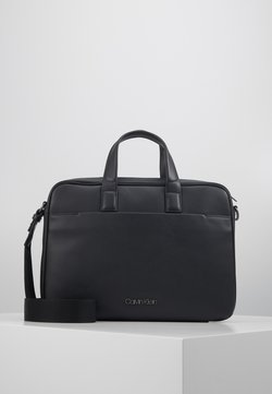 Calvin Klein - CENTRAL LAPTOP BAG - Aktentasche - black