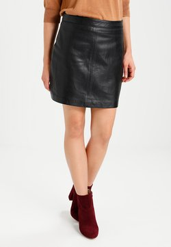 Freaky Nation - LISA - Leather skirt - black