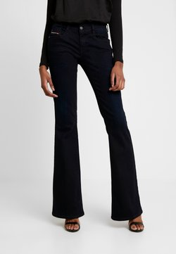Diesel - D-EBBEY - Flared jeans - indigo