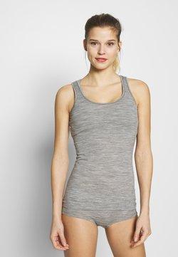 Icebreaker - SIREN TANK - Camiseta interior - grey