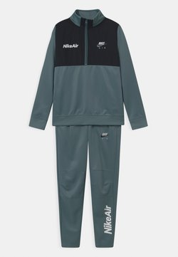 Nike Sportswear - AIR TRACK SUIT SET UNISEX - Survêtement - ozone blue/black