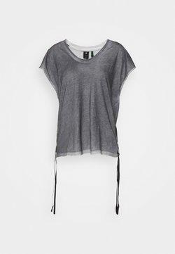 G-Star - ADJUSTABLE TOP SPRAYED - T-Shirt print - black spray outside