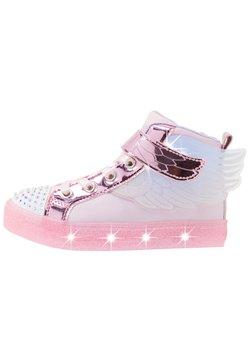 Skechers - SHUFFLE BRIGHTS - Sneaker high - light pink