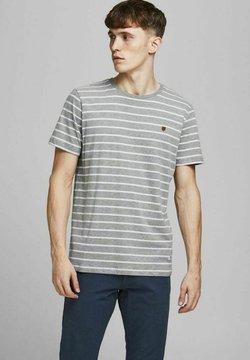 Jack & Jones PREMIUM - T-Shirt print - light grey
