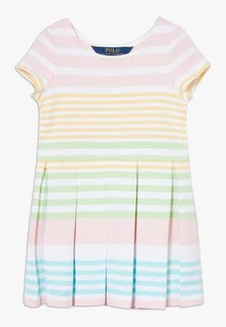 Polo Ralph Lauren - DRESSES - Strickkleid - white multi