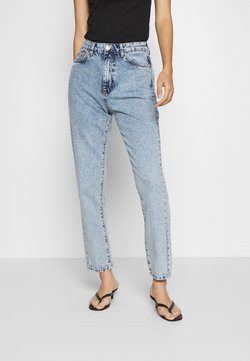 Gina Tricot - DAGNY HIGHWAIST - Jeans Relaxed Fit - mid blue snow