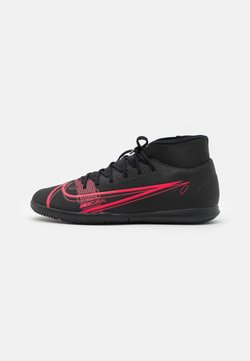 Nike Performance - MERCURIAL 8 CLUB IC - Zaalvoetbalschoenen - black/cyber