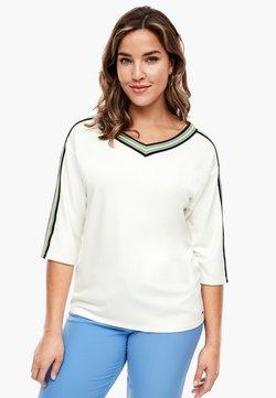 Triangle - Langarmshirt - white