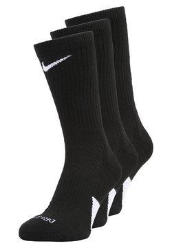 Nike Performance - ELITE CREW 3 PACK - Sportsokken - black/white