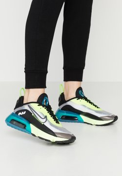 Nike Sportswear - AIR MAX 2090 - Sneaker low - white/black/volt/valerian blue