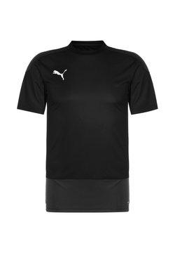Puma - TEAMGOAL 23 TRAININGSSHIRT HERREN - T-Shirt print - black / asphalt