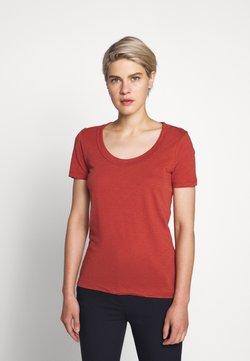 J.CREW - VINTAGE SCOOP - T-Shirt basic - rock red