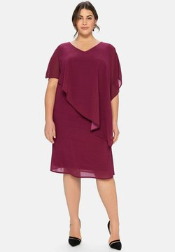 Sheego - Cocktailkleid/festliches Kleid - himbeere