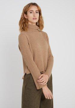 pure cashmere - TURTLENECK - Trui - dark beige