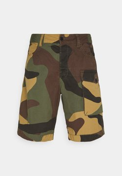 G-Star - TENDRIC DC LOOSE 1/2 - Shorts - dark fall/bright rovic green