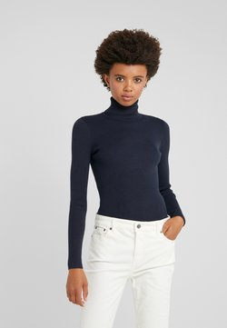 Lauren Ralph Lauren - TURTLE NECK - Strickpullover - navy