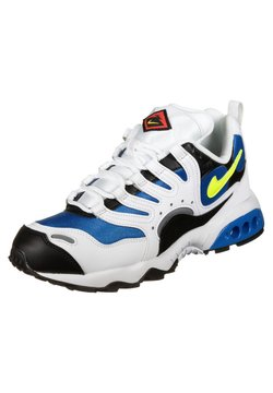 Nike Sportswear - Zapatillas - white/volt-photo blue-black