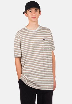 RVCA - TOLUCA MICRO - T-Shirt print - snow marle