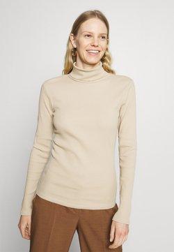 Gestuz - ROLLNECK - Pitkähihainen paita - beige