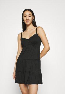 Hollister Co. - BARE DRESS - Jerseykjole - black