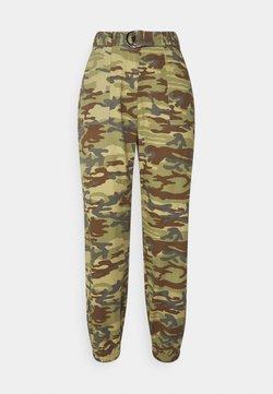 Missguided Petite - Pantalones - khaki