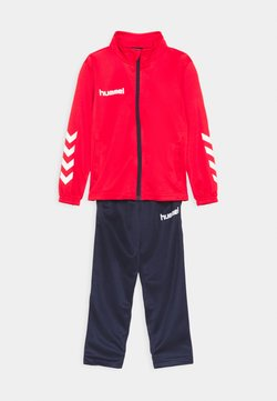 Hummel - PROMO KIDS SUIT UNISEX - Chándal - true red/marine
