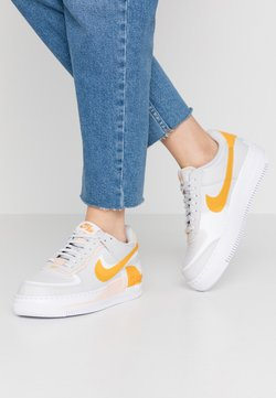 Nike Sportswear - AIR FORCE 1 SHADOW - Sneaker low - vast grey/pollen rise/washed coral/white