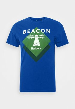 Barbour Beacon - RADAR TEE - T-shirt print - nautical blue