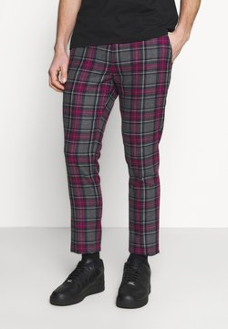 Twisted Tailor - BELTON TROUSERS - Stoffhose - purple