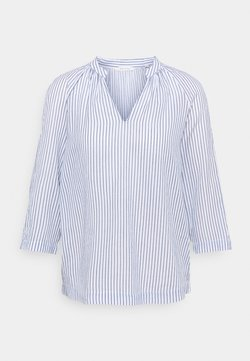Marc O'Polo - BLOUSE THREE QUATER SLEEVE - Bluse - blue