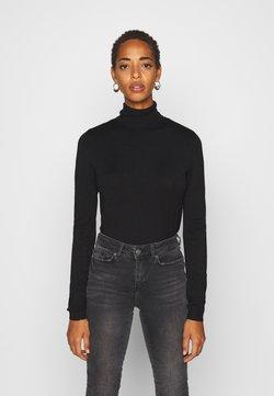 PIECES Tall - PCESERA ROLLNECK - Jersey de punto - black